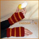 Harry Potter Fingerless Gloves