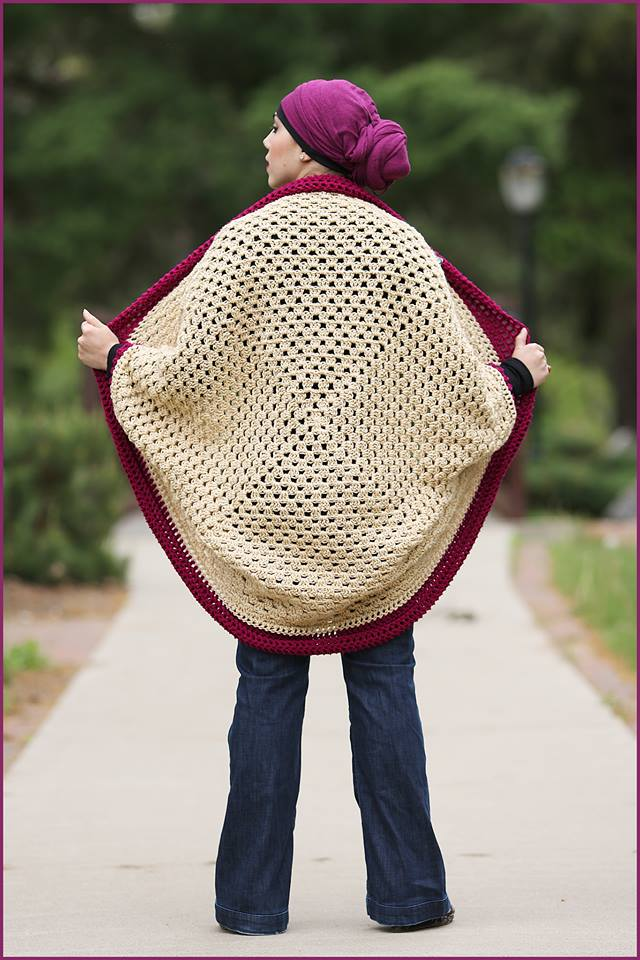 Crochet Granny Square Sweater Pattern : Crochet Tutorial: Granny Square Cardigan YARNutopia by ...