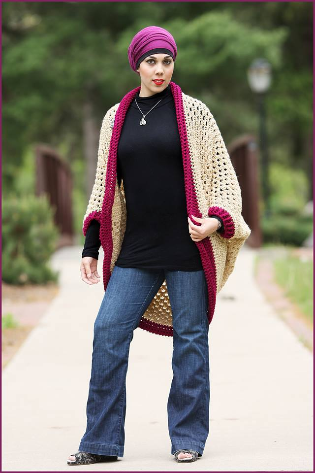 Crochet Tutorial: Granny Square Cardigan YARNutopia by ...