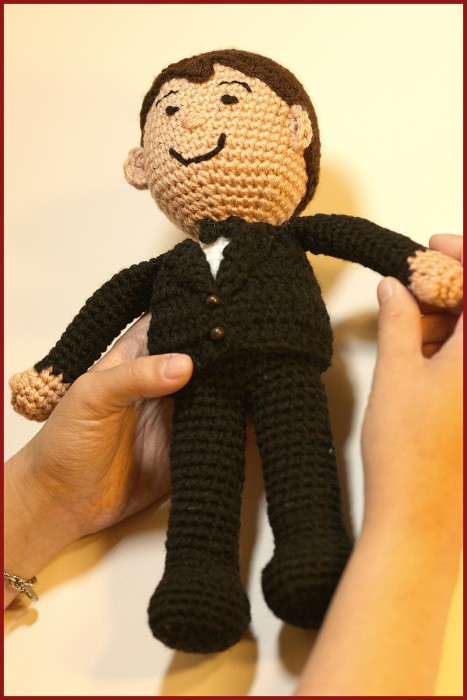 Amigurumi Hair Boy : Crochet Tutorial: Dolls-Bride and Groom YARNutopia by ...