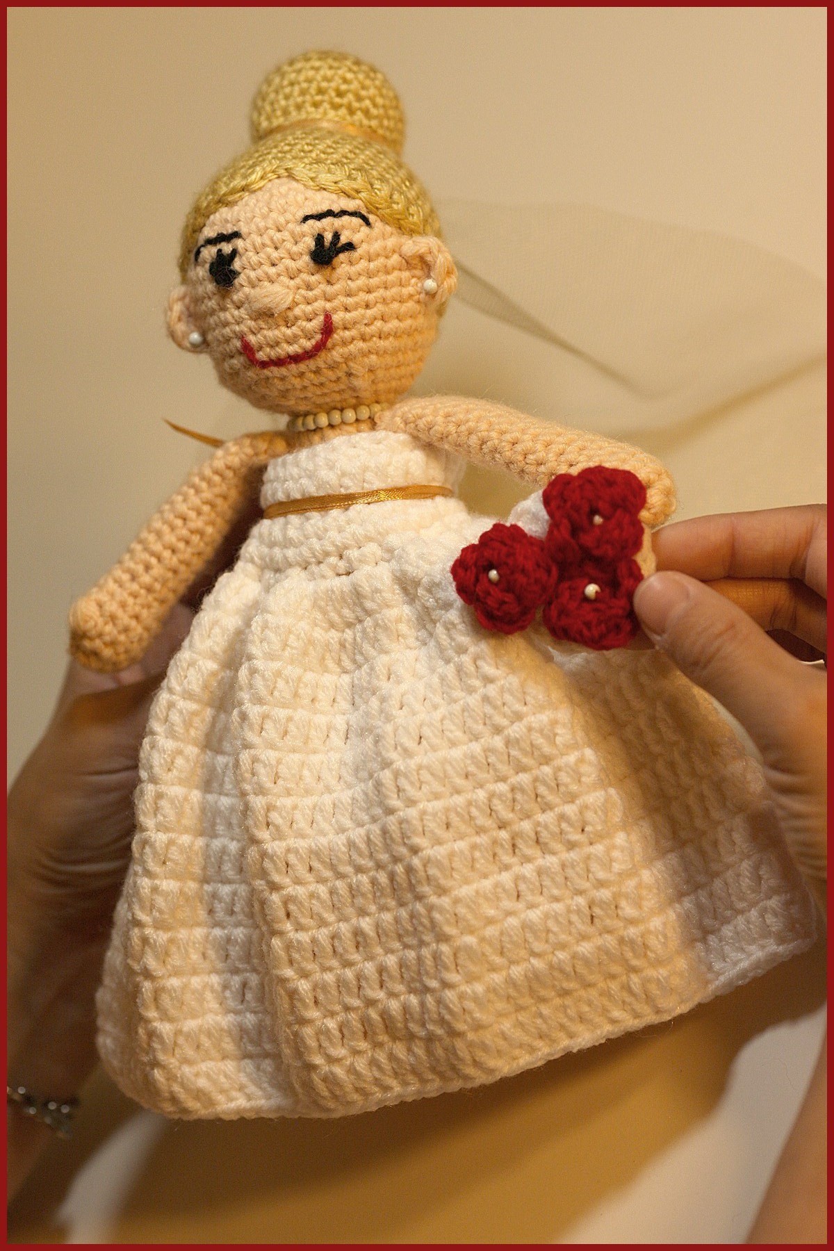 Crochet Tutorial Dolls Bride And Groom Yarnutopia By