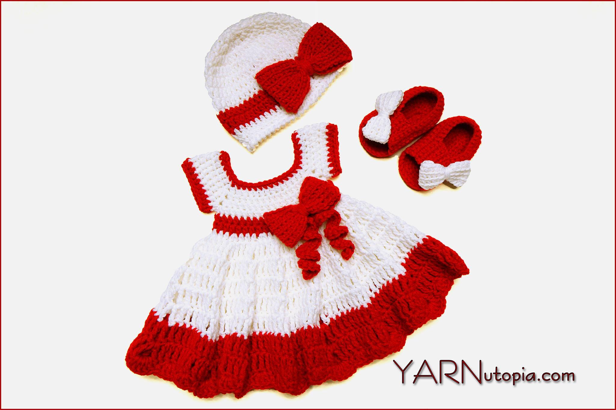 crochet baby dress « YARNutopia by Nadia Fuad