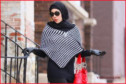 Crochet tutorial houndstooth stitch shawl yarnutopia by nadia fuad houndstooth stitch shawl dt1010fo