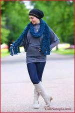 Crochet Tutorial: Chunky Bobble StitchScarf