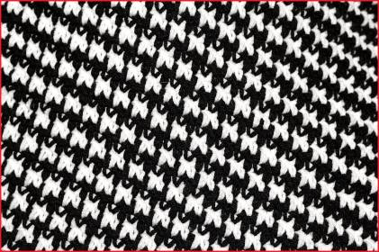 Houndstooth Stitch Shawl