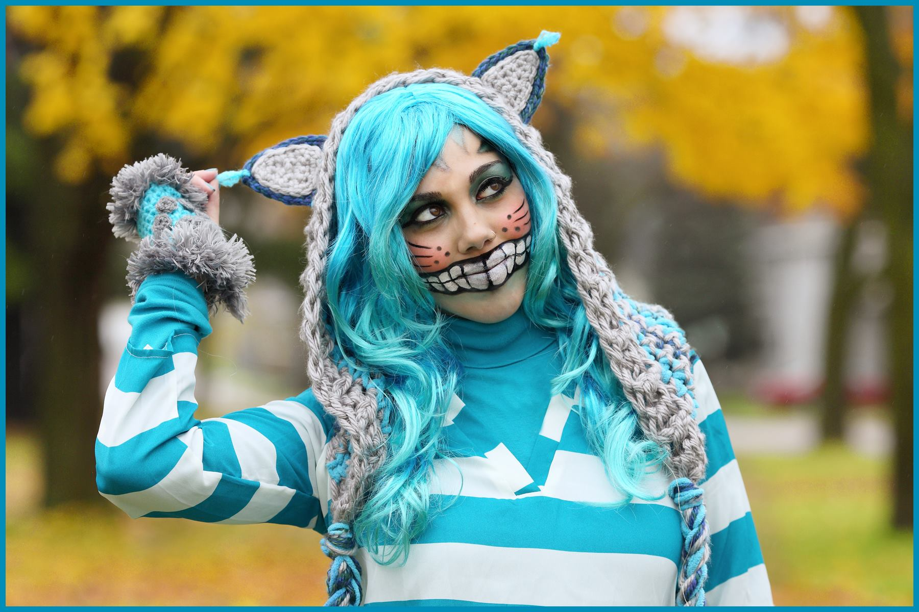 Crochet Tutorial: Cheshire Cat Hoodie « YARNutopia by Nadia Fuad