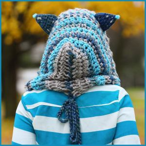 Cheshire Cat Amigurumi Pattern : Crochet Tutorial: Cheshire Cat Hoodie YARNutopia by ...