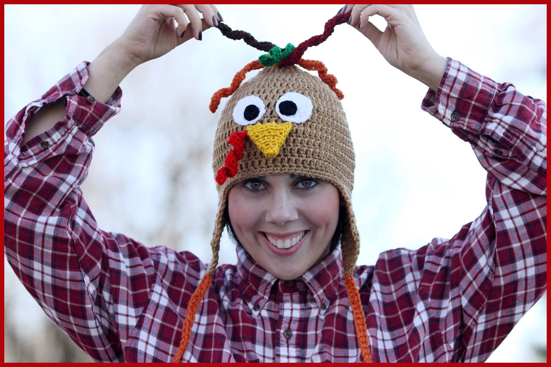 Crochet Tutorial Turkey Hat Yarnutopia By Nadia Fuad