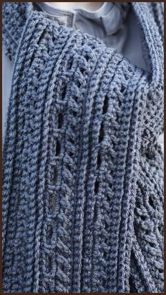 Crochet Tutorial The Gentleman S Scarf 171 Yarnutopia By