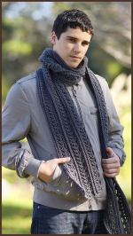 Crochet Tutorial: The Gentleman's Scarf