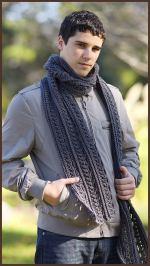 Crochet Tutorial: The Gentleman's Scarf