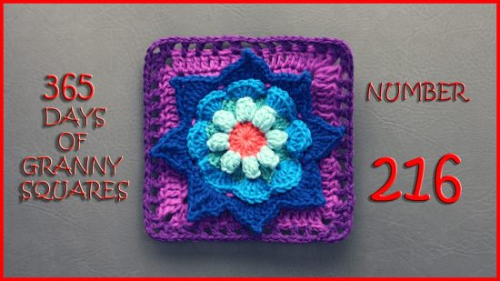 365 Days Of Granny Squares Yarnutopia By Nadia Fuad Yarnutopia By