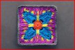 Crochet Tutorial: Vivacious Attitude GrannySquare