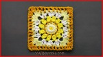 Crochet Tutorial: Sublime Light GrannySquare