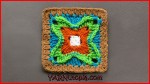Crochet Tutorial: Dynamic Window Granny Square