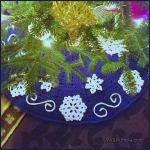 Crochet Tutorial: Fabulous Flurries Tree Skirt