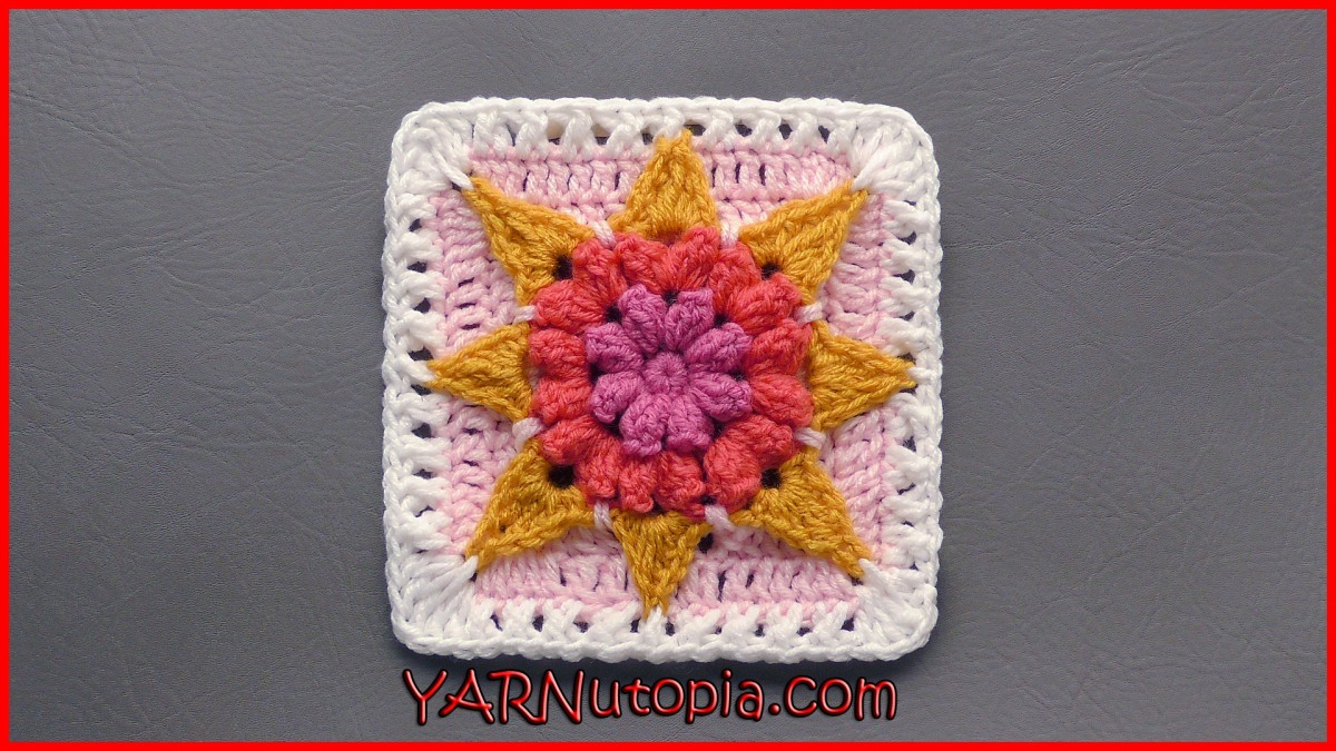 365 days of granny squares « YARNutopia by Nadia Fuad