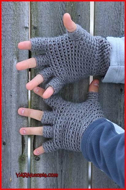 Crochet Tutorial Freestyle Fingerless Gloves Yarnutopia By Nadia Fuad