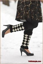 Crochet Tutorial: Harlequin LegWarmers