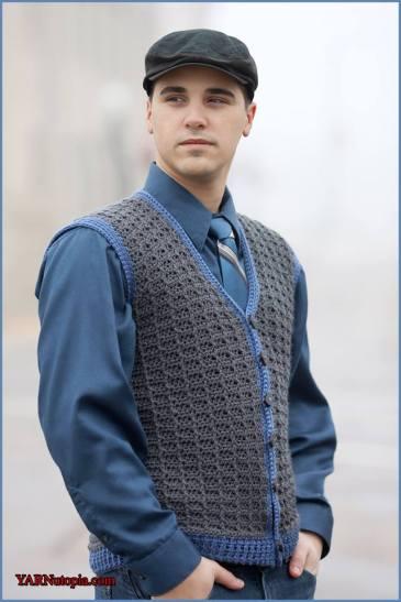Crochet Tutorial Sharp Dressed Man Vest Yarnutopia By Nadia Fuad