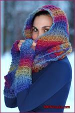 Crochet Tutorial: Warm Waffles HoodedCowl