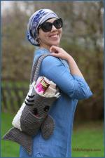 Crochet Tutorial: Shark Bag