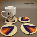 Crochet Tutorial: Geometric Arrow Coasters