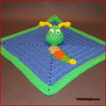 Crochet Tutorial: Caterpillar Lovey