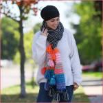 Crochet Tutorial: Boho TasselScarf