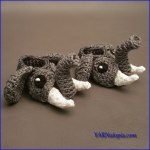 Crochet Tutorial: Easy Elephant Baby Booties