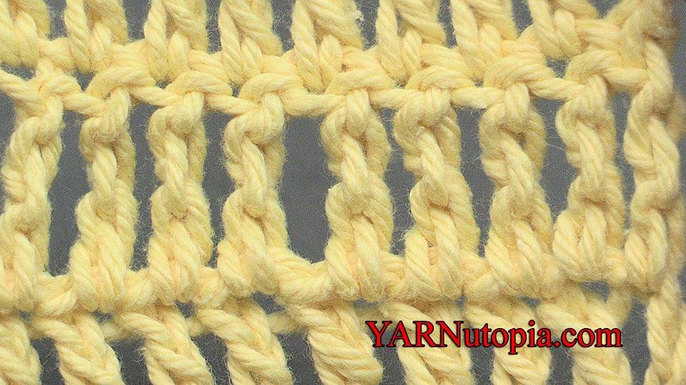 Stitch Gallery Glossary Episode 4 Treble Crochet Yarnutopia By