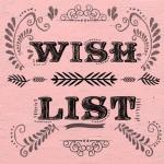 My Crafty Wishlist