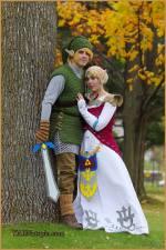 Happy Halloween from Link andZelda!
