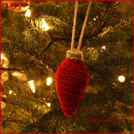 12 days of christmas christmas bulb ornament yarnutopia by nadia fuad