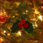 12 Days of Christmas: Holly and BerriesOrnament