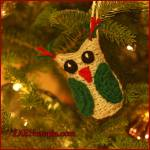 12 Days of Christmas: Owl Ornament