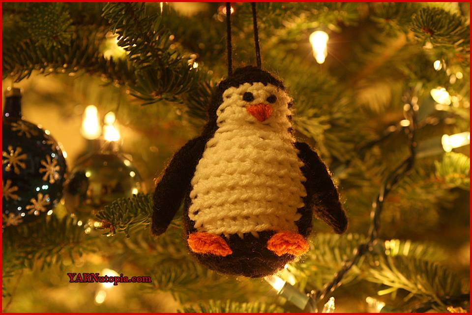 12 Days Of Christmas: Penguin Ornament « YARNutopia By