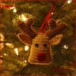 12 Days of Christmas: ReindeerOrnament