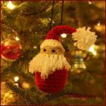 12 Days of Christmas: SantaOrnament