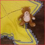Crochet Tutorial: Love & Sunshine Baby Blanket