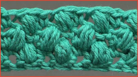 Stitch Gallery Glossary Episode 19 Puff Stitch Yarnutopia By