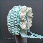 Crochet Tutorial: Vintage Style BabyBonnet