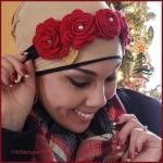 How to Crochet Tutorial: Rose Flower Headband & Floral WeddingBouquet